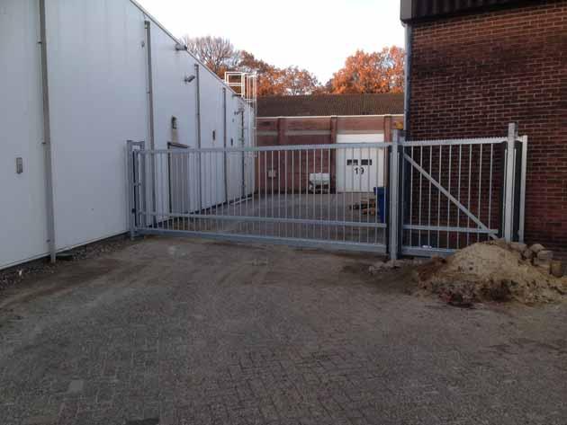 Electrische Poort voor Borgesius NW Adam - Hoving Hekwerk B.V. Stadskanaal