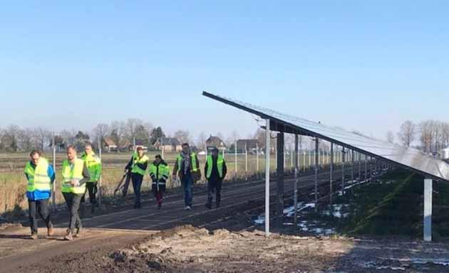 Grootste zonnepark van Drenthe geopend - Hoving Hekwerk B.V. Stadskanaal