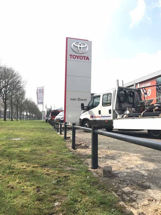 Louwman Toyota Kiest Hoving Hekwerk! - Hoving Hekwerk B.V. Stadskanaal