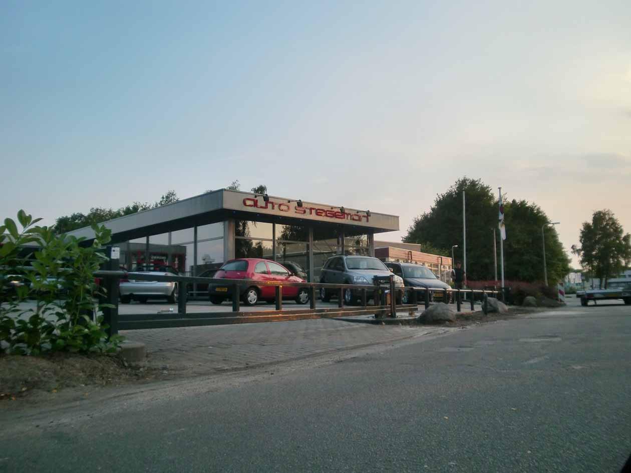Doorrijbeveiliging Auto Stegeman Hoving Hekwerk B.V. Stadskanaal