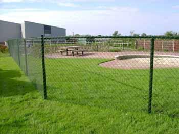 Speelveld met gaashekwerk - Hoving Hekwerk B.V. Stadskanaal