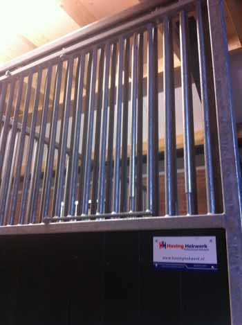 Gegalvaniseerde paardenbox Hoving Hekwerk B.V. Stadskanaal
